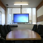 Conference room with LCD - Soundwerks Audio and Video Sunshine Coast BC (Smart Board)