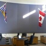 Conference room with acoustical treatment - Soundwerks Audio and Video Sunshine Coast BC