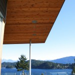 In soffit speakers Audio Video Systems Sunshine Coast BC