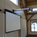 Projector, Screen and Mount