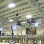 Acoustical treatment at the Gibsons Arena - Soundwerks Audio and Video Sunshine Coast BC