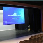Chatelech Theatre Projection screen