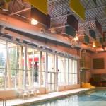 Hanging Speakers in Pool