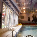 Ceiling speakers at the Sechelt Aquatic Centre - Soundwerks Audio and Video Sunshine Coast BC
