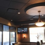 Restaurant LCDs & In ceiling speakers - Soundwerks Audio and Video Sunshine Coast BC