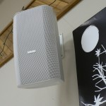Wall mounted speaker at Seniors Centre